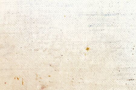 Old white dotted paper texture. Empty paper background