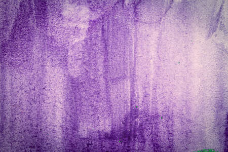 Abstract purple watercolor texture background. Hand painted watercolor background.