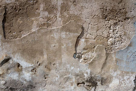 Gray uneven concrete wall texture background. Old gray concrete wall for abstract background.