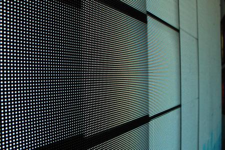Led screen gray - bricks background