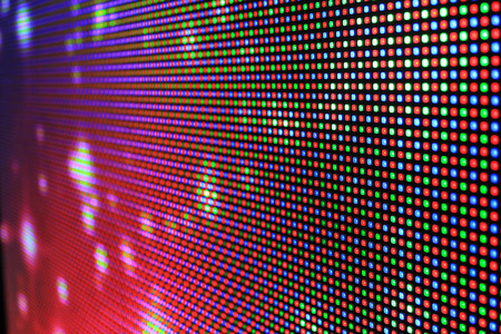 rgb: Led screen - Rgb color background close up
