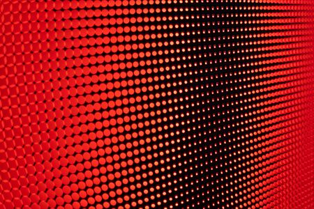 Bright colored LED video wall with high saturated pattern - close up background with shallow depth of field Фото со стока - 131635426
