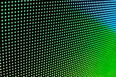 Bright colored LED video wall with high saturated pattern - close up background with shallow depth of field Фото со стока