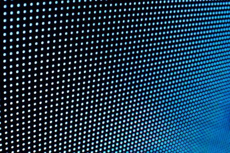 Bright colored LED video wall with high saturated pattern - close up background with shallow depth of field Фото со стока - 131635439