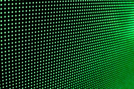 Bright colored LED video wall with high saturated pattern - close up background with shallow depth of field Фото со стока - 131635447