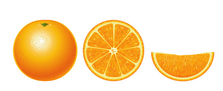 Oranges isolated (simple version)