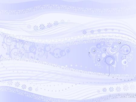 Abstract light blue background aka Strange Music Stock Vector - 3795538