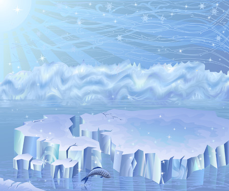 Arctic landscape (other landscapes are in my gallery) Stock Vector - 4066870