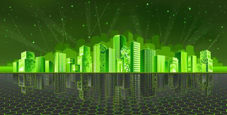 bioedilizia: Cyber City (altri paesaggi sono nella mia galleria)