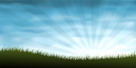 Grassy landscape (other landscapes are in my gallery) Stock Vector - 5246591