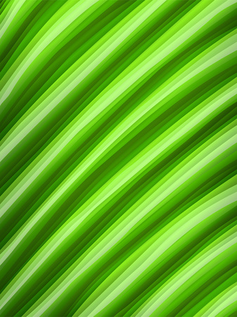 fertile: a green leaf macro Illustration