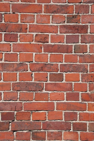 Red brick wall, suitable for backgrounds  photo