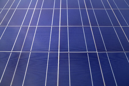 modules: Solar panels or photovoltaics to generate solar energy. Selective focus.