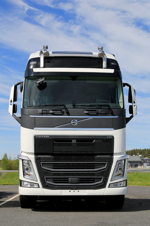 2018 volvo fh.  volvo forssa finland  may 30 2015 new white volvo fh truck parked intended 2018 volvo fh