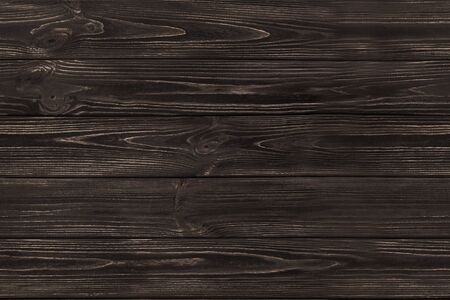 SEAMLESS Dark Brown Wooden Old Planks Background Wood Texture Stock Photo