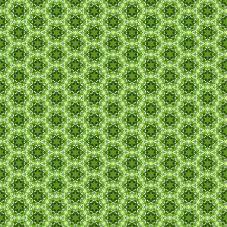 autocad: Hexagonal circle pattern green color backgroung