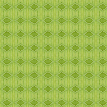 Simple green seamless minimalistic pattern - Illustration  Built Structure, Decor, Flower, Painted Image, Single Flower