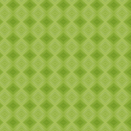 Geometric retro vintage seamless pattern in green.Ceramic tile, wallpaper, linoleum, textile, web page background Stock Photo