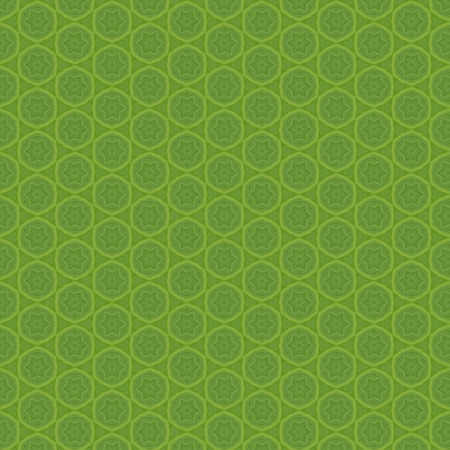 Seamless geometric pattern green texture
