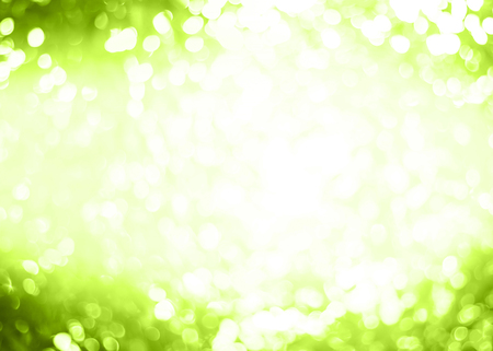 green tone: Abstract Blurred green tone lights background.