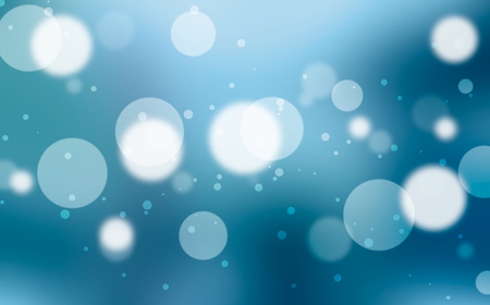 fantasy: Blue bokeh or blurred abstract for background