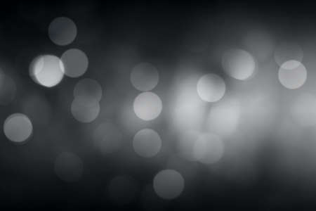 fantasy: Gray bokeh blurred abstract for background. Stock Photo