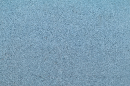 Cement wall paint blue color abstract background.