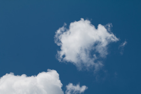 Blue sky with clouds background has space for put text or product.