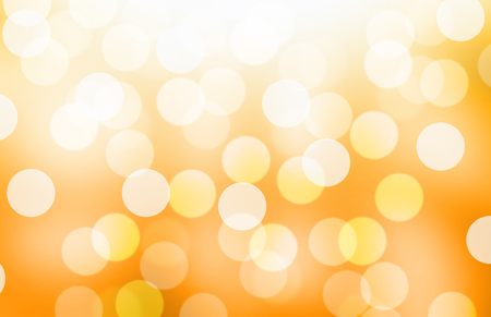 Blurred light yellow or gold gradient bokeh abstract background. Reklamní fotografie