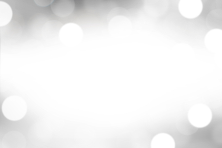 Gray blurred with bokeh abstract background.