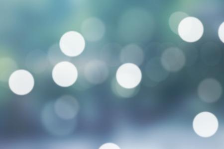 Blurred light green gradient bokeh abstract background. Banco de Imagens