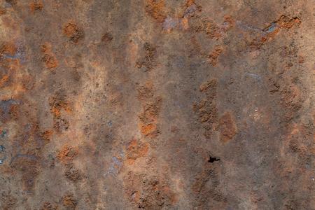 Fondo abstracto de textura de techo de metal oxidado. Foto de archivo