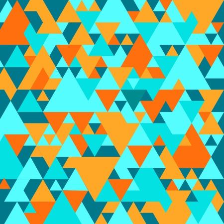 Bright background with geometrical triangular pattern