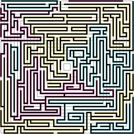 Bright background with maze pattern