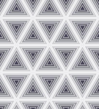 seamless bacground: Seamless monochrome geometric bacground with striped triangkes