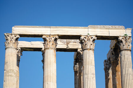 olympian: Columns of greek ancient temple