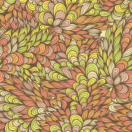 ornamented: Seamless floral vintage fantasy ornamented pattern
