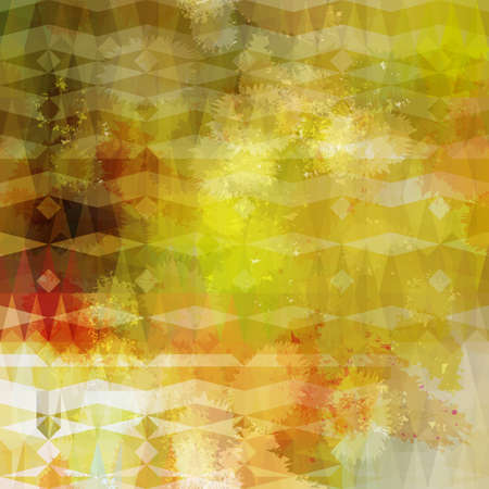Colorful abstract geometric grunge beige pattern  Eps10 Vector