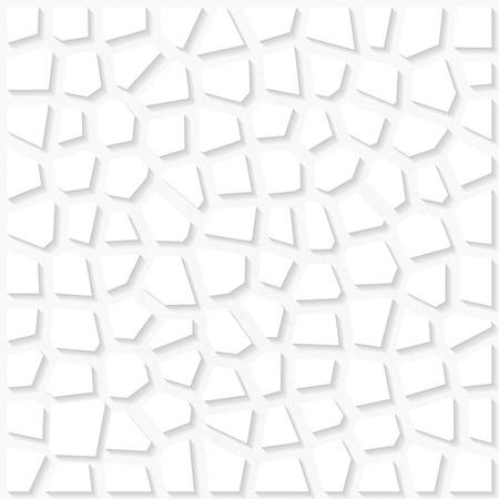 origami pattern: White triangulated origami pattern. Eps10