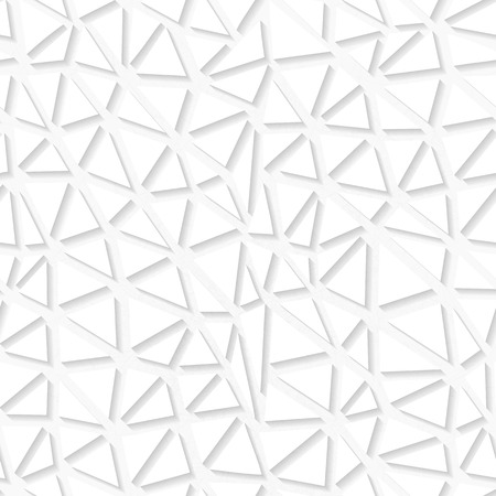 origami pattern: White organic triangulated origami pattern. Eps10