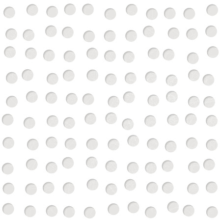 origami pattern: Seamless white origami pattern with random circles. Eps10 Illustration