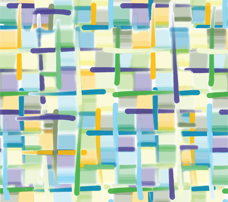 Endless abstract background of green color Illustration