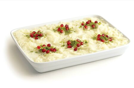 Traditional dessert called Gullac special for Ramadan