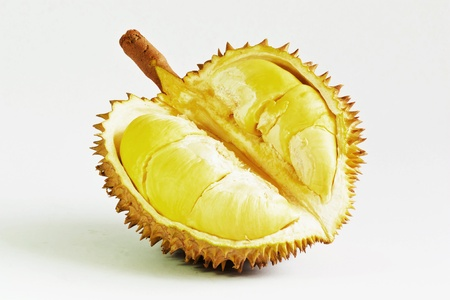Durian fruit from Thailand  Фото со стока