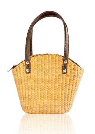 decoupage: Bag for gift decoupage Stock Photo