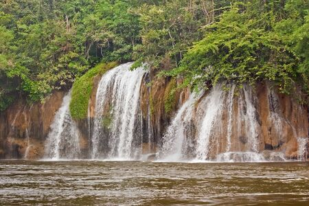 Waterfall beautiful in Thailand Stock Photo - 16419138