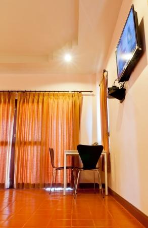 Bedroom in resort Stok Fotoğraf