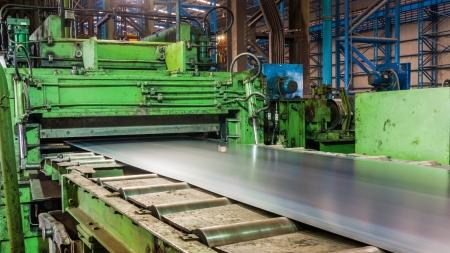 Machine rolling steel
