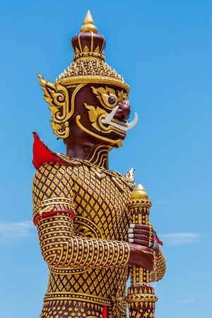Giant statue in Buddhism photo
