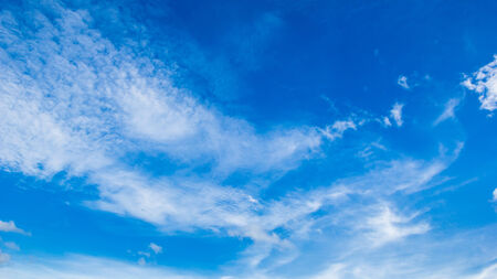 bluer: Bluer sky with cloud on summer  Stock Photo